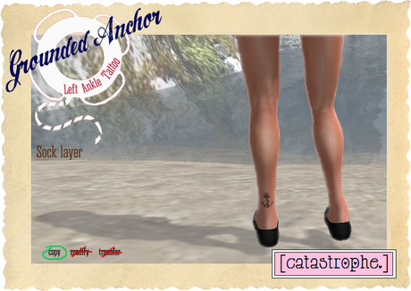 [catastrophe.] - Grounded - Anchor (Left Ankle)