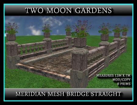 MERIDIAN MESH BRIDGE STRAIGHT