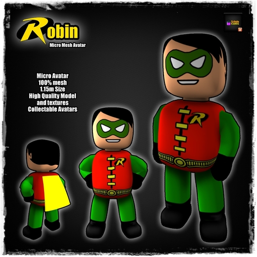 [LR]Robin - Micro Mesh Avatar - SPECIAL PRICE!