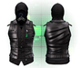 :{F.A.D.}: Lionel Leather Vest // Hoodie Black