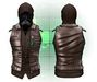 :{F.A.D.}: Lionel Leather Vest // Hoodie Oil