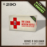 Zooby's - Medicine for 1 Lemur