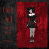 *ALT* Goth Doll (Complete Avatar)