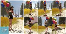 CAASH! Balloon Prop Pose Pack #02