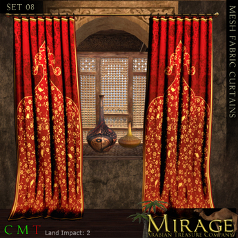 =::Mirage::= Mesh Curtains - 08