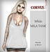Corvus : White Mila Tank