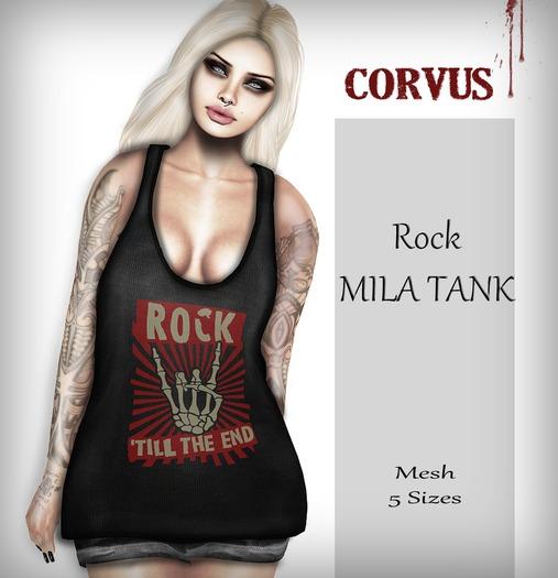 Corvus : Rock Mila Tank