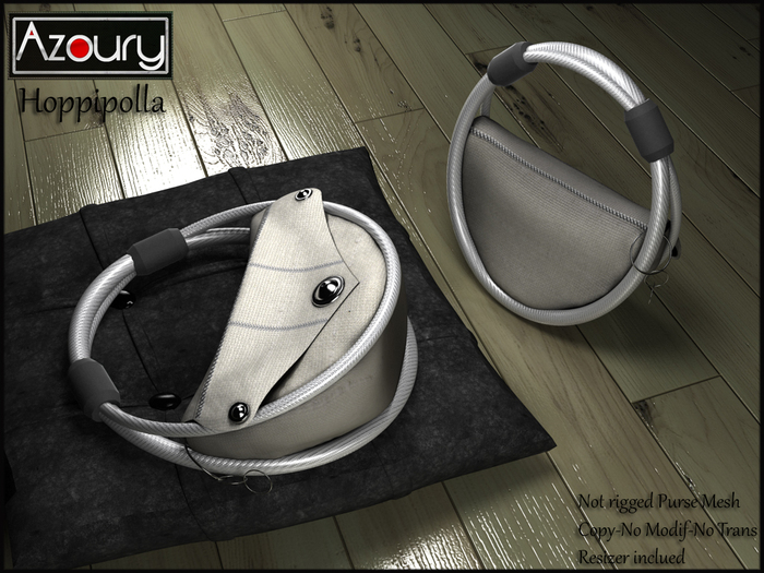 AZOURY - Hoppipolla Purse Grey