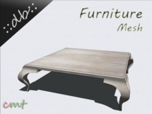 ::db furniture:: Bright Wooden Coffee Table