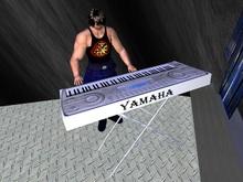 Yamaha Keyboard (with animation)