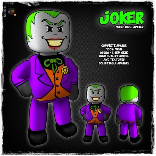 [LR]Joker - Micro Avatar - SPECIAL PRICE!