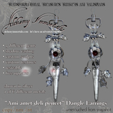 ) AI ( - Ami amet deli pencet Dangle Earrings - $175 on sale for $85!