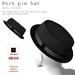 Pork pie hat felt black