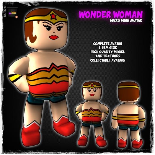 [LR]Wonder Woman - Micro Mesh Avatar - SPECIAL PRICE