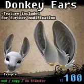 . : c h i m e r a : . Donkey Ears