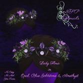NSP Lady Flora in Amethyst Opal & Purple Goldstone