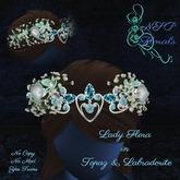 NSP Lady Flora in Topaz & Labradorite