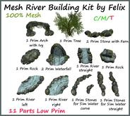 Mesh River Building Kit 11 Parts by Felix copy-mody+