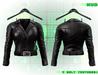 :{F.A.D.}: Ace Ladies Leather Jacket // Belt Black
