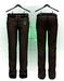 :{F.A.D.}: Classy Men's Pants Dark Brown