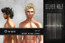 Uw.st   Owen-Hair  Silver wolf