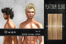 Uw.st   Owen-Hair  Platinum blond