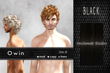 Uw.st   Owin-Hair  Black