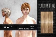 Uw.st   Owin-Hair  Platinum blond