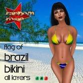 *TG* - Flag of Brazil Bikini
