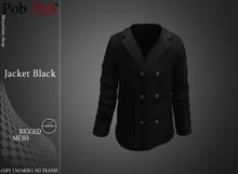 PZ - Mens  Jacket Black [MESH]