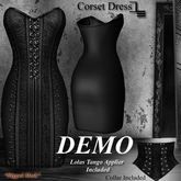 DE Designs - Corset Dress - DEMO