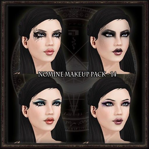Nomine Tattoo Makeup Pack 14