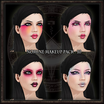 Nomine Tattoo Makeup Pack 10