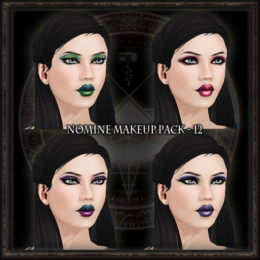 Nomine Tattoo Makeup Pack 12