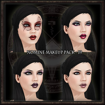 Nomine Tattoo Makeup Pack 19