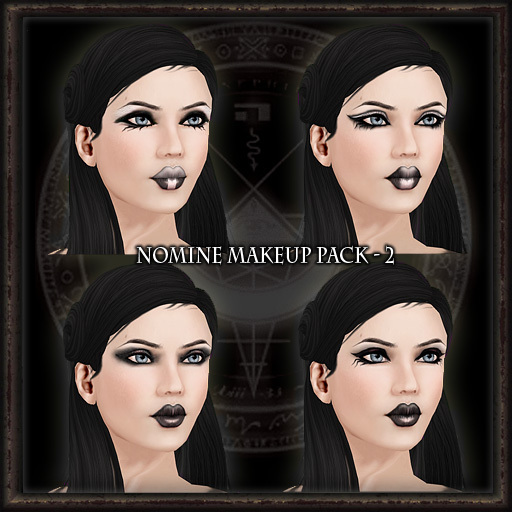Nomine Tattoo Makeup Pack 2