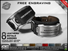 **RE** ReVoX Couple Bracelets M1 Engravable (FREE ENGRAVING) (*ReVoX Collection*)