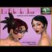 Bliensen   maitai   la folie du jour   flapper hair with optional veil   ad