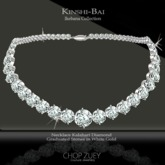 Kinshi-Bai Necklace in Diamond by Chop Zuey Couture Jewellery