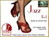 Bliensen + MaiTai - Jazz - Shoes for Slink - Red