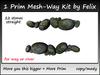 1 Prim Mesh-Way Kit by Felix 22 stones straight copy-mody
