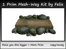 1 Prim Mesh-Way Kit by Felix copy-mody
