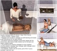 Luxury Fantasies Couple Massage Table