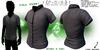 :{F.A.D.}: Full Perm Men's Short Sleeve Dress Shirt