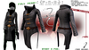 :{F.A.D.}: Full Perm Ladies Strapped Apoc Jacket Template (Long Version)