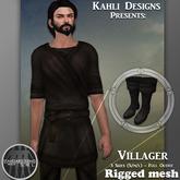 {KD} Kahli Designs - Villager - Brown
