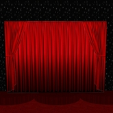stage-curtain with control (also useable for cinema or at home)