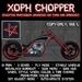Xoph Chopper with pentagram (Demon bike, motorcycle)