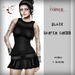 Corvus : Black Garter Dress