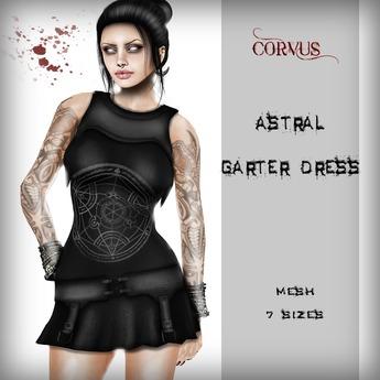 Corvus : Astral Garter Dress